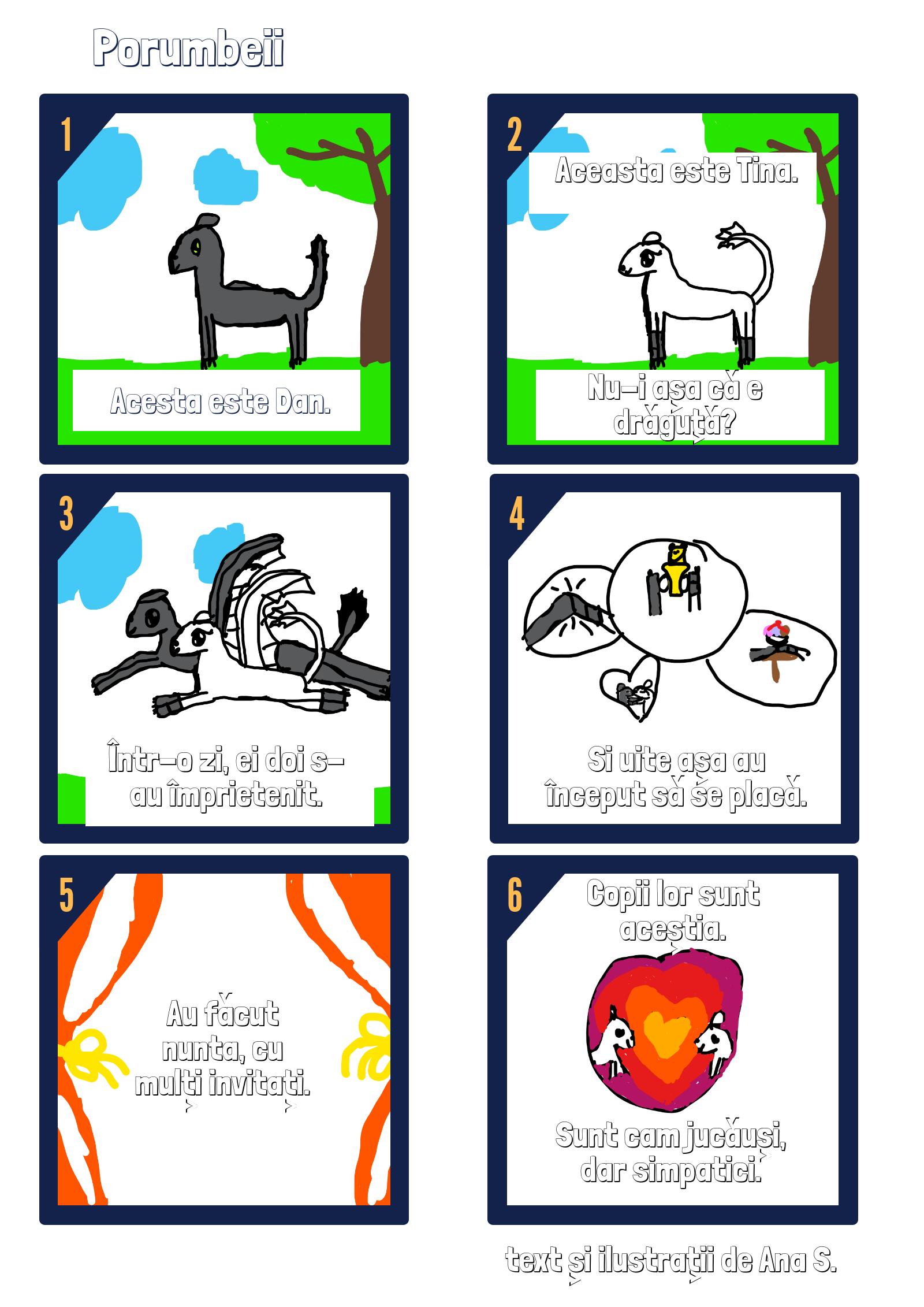 porumbeii - scrie povestea