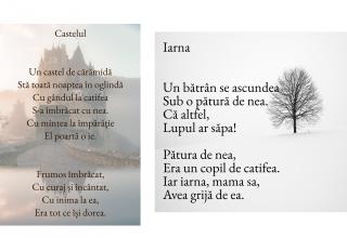 2 poezii